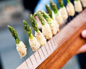 Sesame Asparagus Spears sized