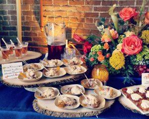 fall buffet